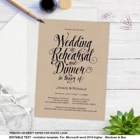 microsoft wedding invitation templates