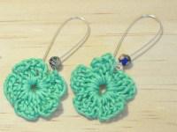 Crochet earrings   Etsy