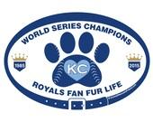 DECAL - KC Royals Fan Fur...