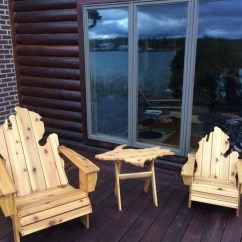 Michigan Adirondack Chair Lifetime Gray Chairs Up Side Table