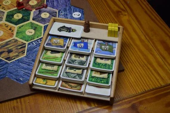 Card Rack 12 slots Settlers of Catan