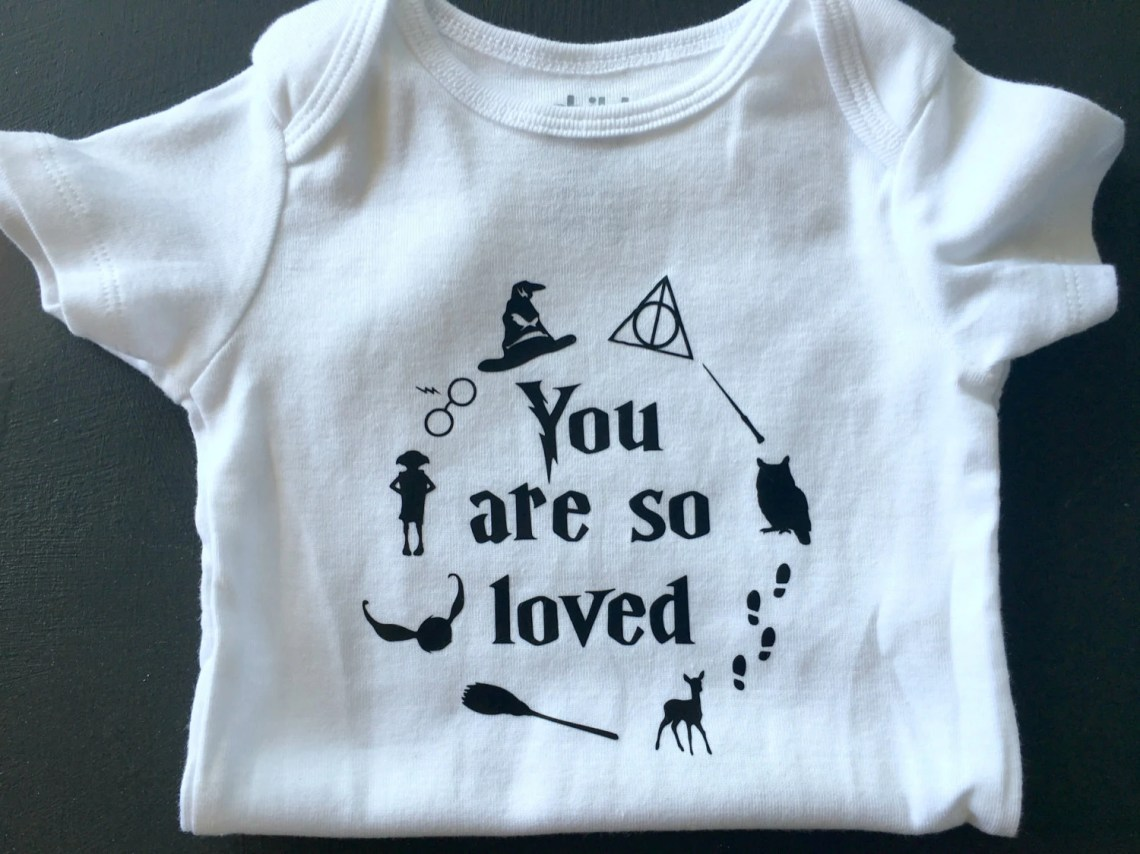 Download Baby Onesie You Are So Loved Harry Potter Baby Boy or by ...