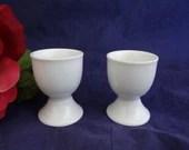 Vintage Pair of White Por...