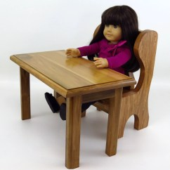 American Girl Doll Chairs Folding Spectator School Desk Or Table And Chair