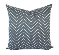 Two Dark Grey Pillow Covers Grey Throw Pillow Covers