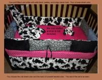 Cowboy Baby Bedding Set Western Style Pony Red Bandana