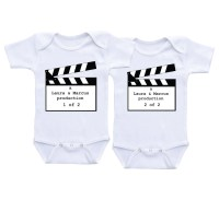 Funny Baby Onesies For Twins | www.pixshark.com - Images ...