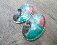 Tacky earrings