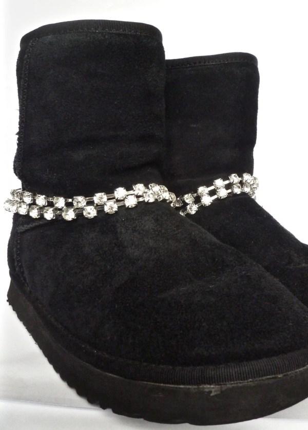 Ugg Rhinestone Sparkle Boot Jewelry Chains