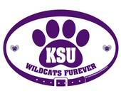 DECAL - KSU Wildcats Fure...