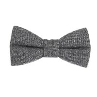 Bow Tie Mens Grey Bow Tie Bowtie Gray Bow Ties for Men