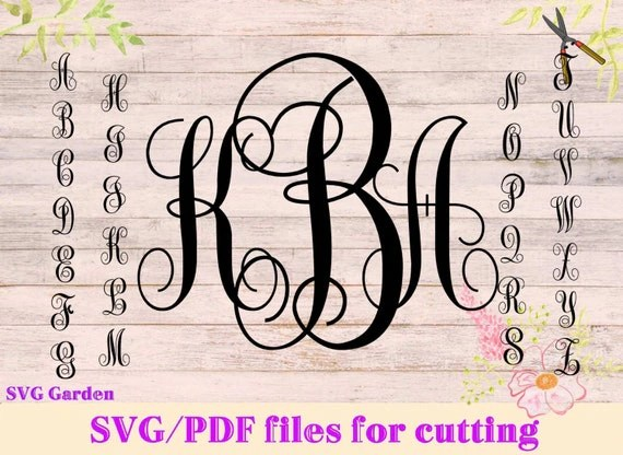 Download SVG font files for Cricut, Silhouette, Monogram SVG ...