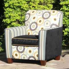 Unique Accent Chairs Arm Chair Rocker Elegant And Bold Art Deco By Nuevosol