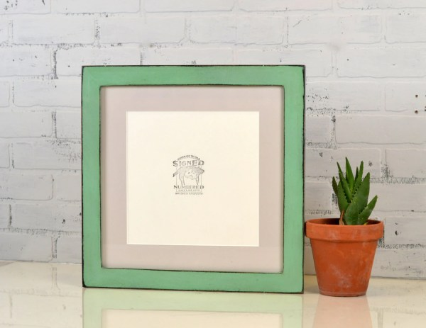 14x14 Square Frame In 1.5 Standard Style With Vintage