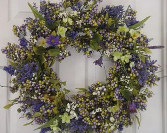 Easter Wreath Etsy