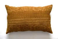 African Mudcloth Pillow Cover / 16x24 inches Mudcloth Pillow