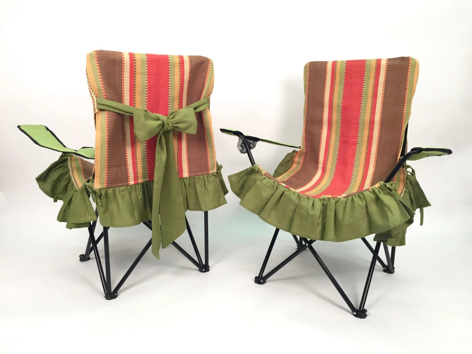 soccer mom covered chairs high walmart folding chair slip cover glamping and girl camping