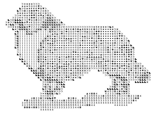 Australian Shepherd, counted cross stitch pattern, cross