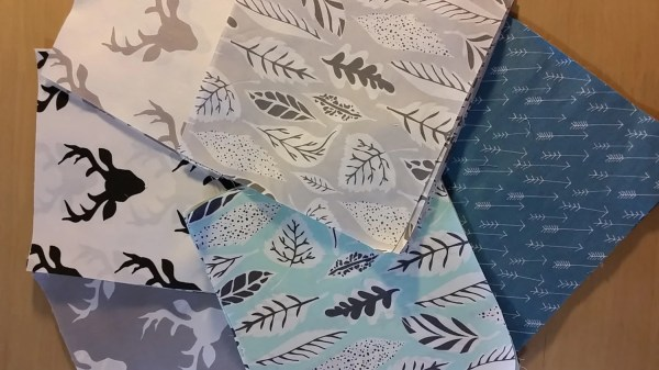 Art Quilt Kit Bear Fabric Deer Elk Buck