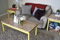 Farmhouse Living Room Set Coffee Table Set Side or End