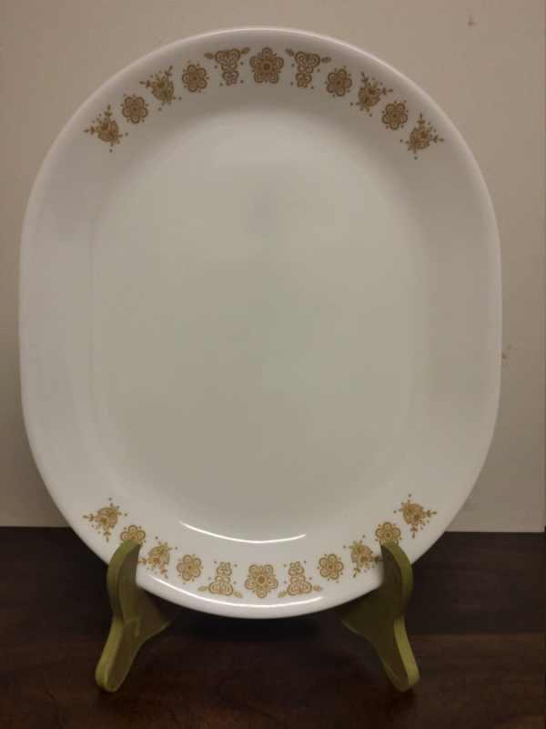 Vintage Corelle Golden Butterfly Serving Platter