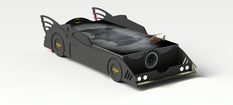 DIY plans twin Batman car bed plans twin size