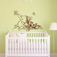 Jual Wall Sticker Pooh - Stiker Dinding Murah