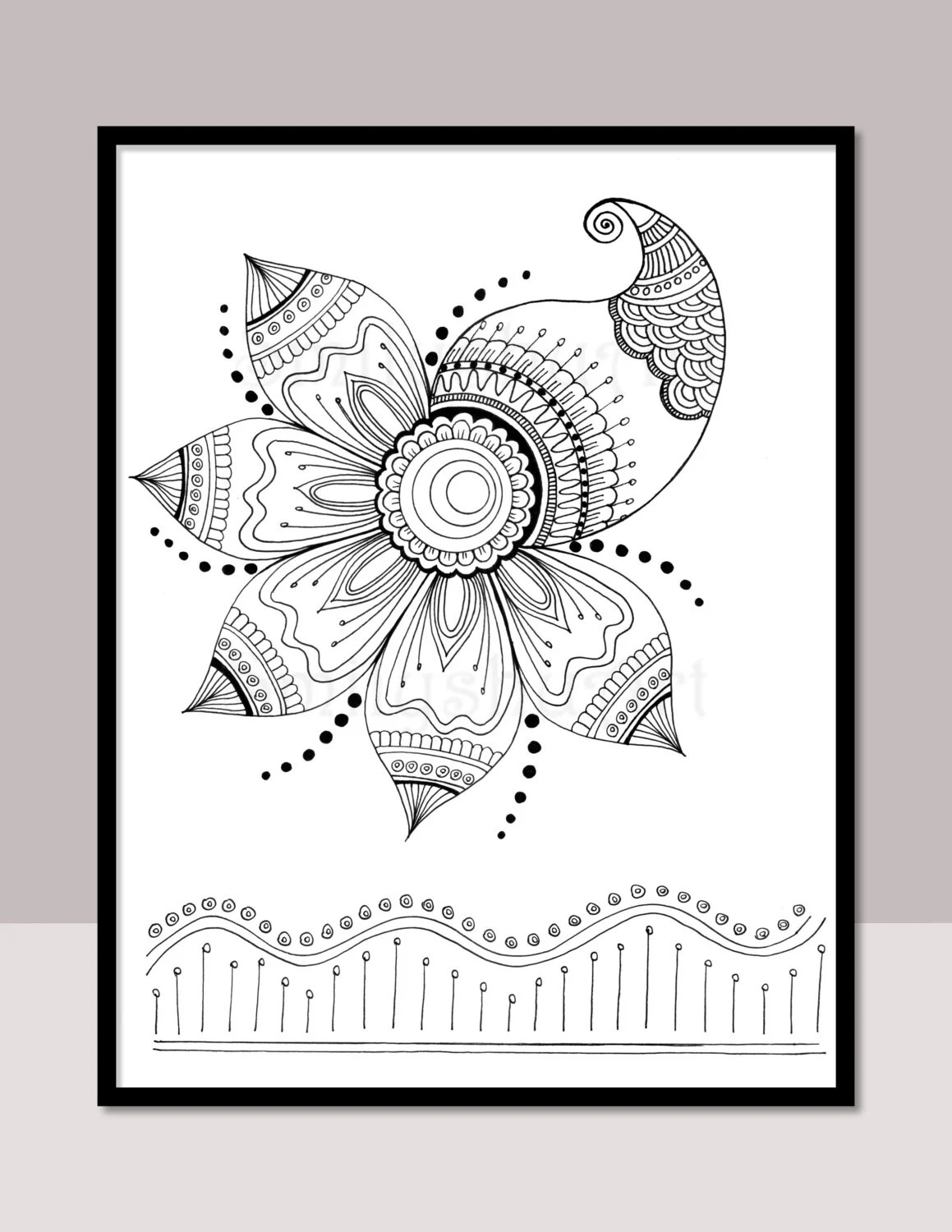 Printable Coloring Pages Stickers Cards and More.. by