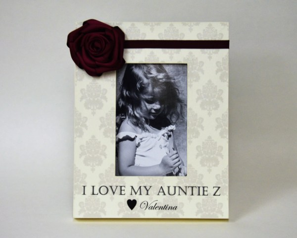 Personalized Aunt Frame Love Auntie Ideas