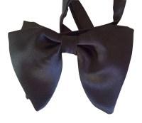 Silk Bow tie Tom Ford inspired bowtie Bowtie Pre-Tied