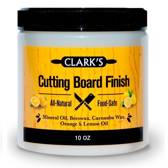 Clark's Cutting Board Finish Wax Conditioner 10ozmade