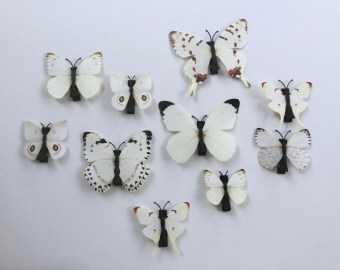 butterfly hair clip etsy