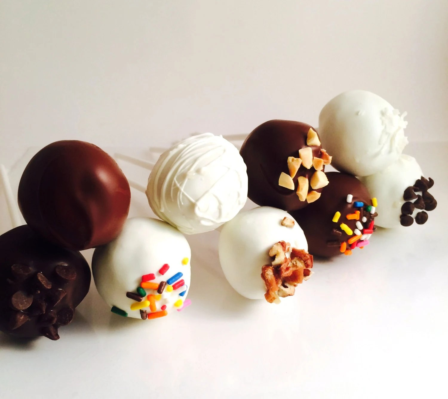 Cake Pops Cake Balls 12 Flavors Chocolate Birthday