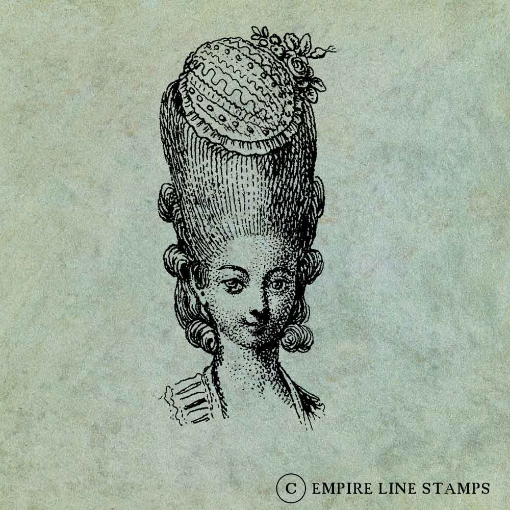 18th Century Lady With Or...