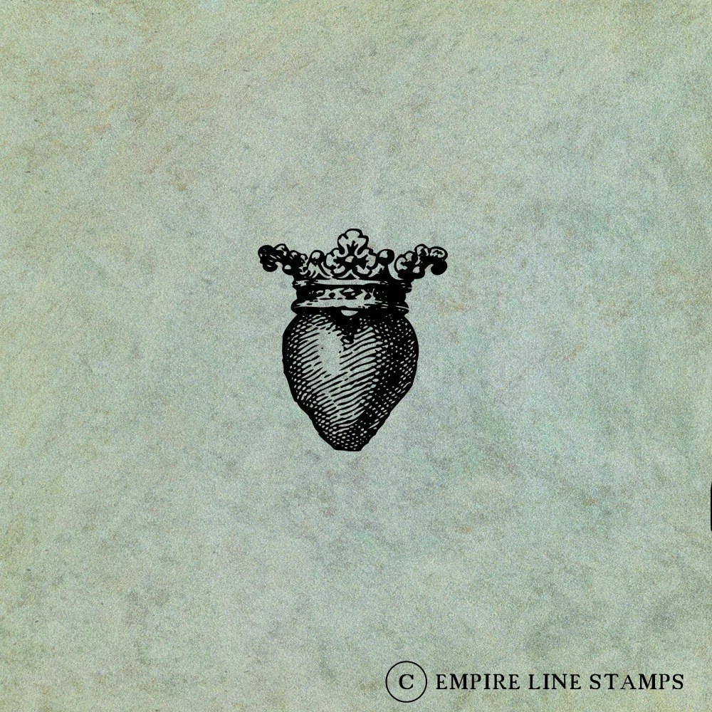 Crowned Heart (Small)  - ...