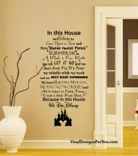 Disney Wall Decal