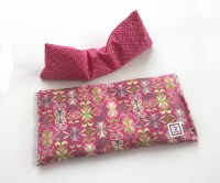 Heating Pad and Eye pillow Gift Set Microwavable