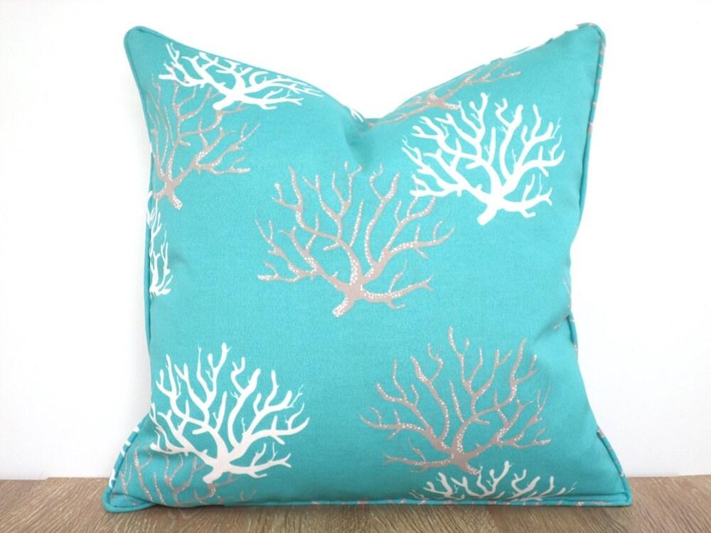 Turquoise Chair Cushion