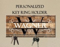 Personalized Key Holder Wedding Gift Anniversary Gift