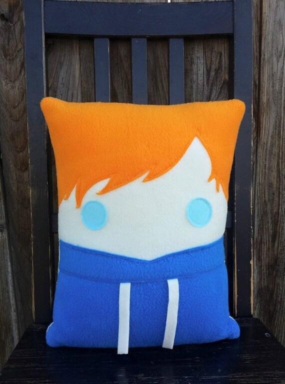 Portrait Pillow Ed plush throw pillow