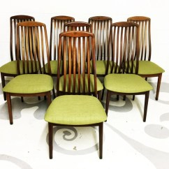 Modern Green Dining Chairs Black Metal Chair Mid Century In Teak By Dyrlund With