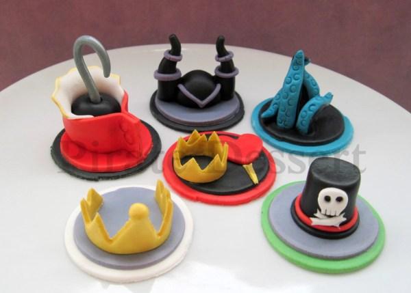 Disney Villains Edible Cupcake Toppers Party