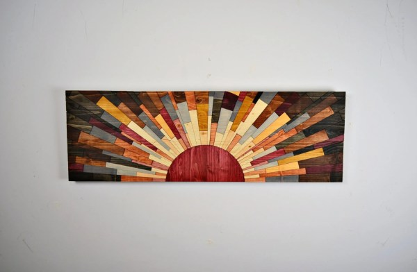 Wood Wall Art Edge Of Day Wooden