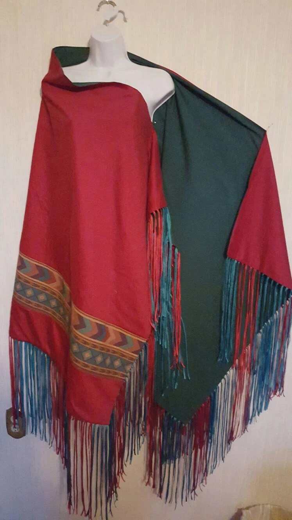 Native American Indian dance shawl regalia by AnaAndAurora