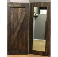 Z Design Mirror Sliding Barn Door by Rustic Luxe