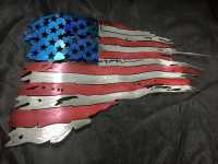 Metal Gamefish artist reveals works: U.S. American Flag ...