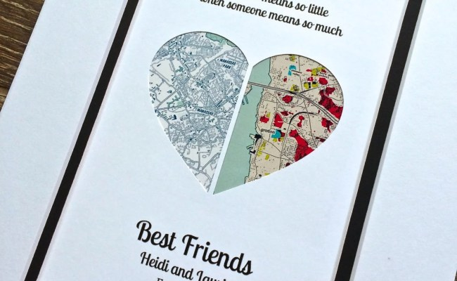 Best Friend Long Distance Etsy
