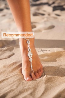 Wedding Barefoot Sandals Bridal