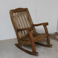 Rocking Chair Rustic Southwestern Handmade Pine Wood Old