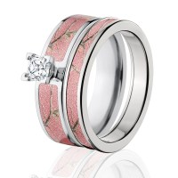 Pink Camo Wedding Ring Sets | www.imgkid.com - The Image ...